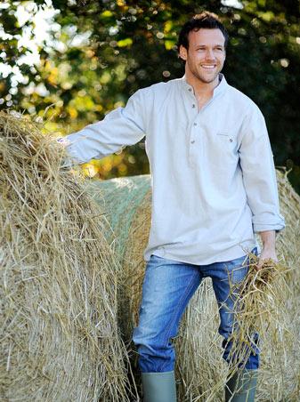 Dingle Linens grandfather shirts