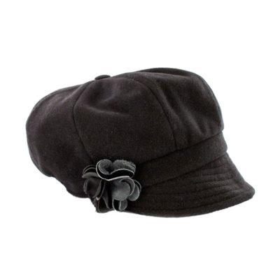 Newsboy Cap Black