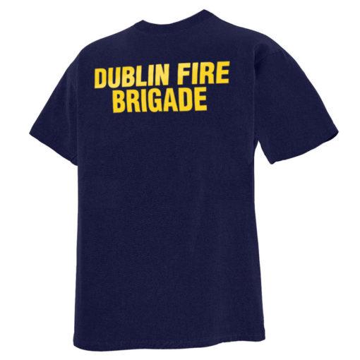 Dublin fire brigade t-shirt back