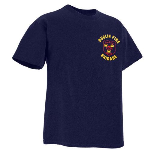 Dublin fire brigade t-shirt front