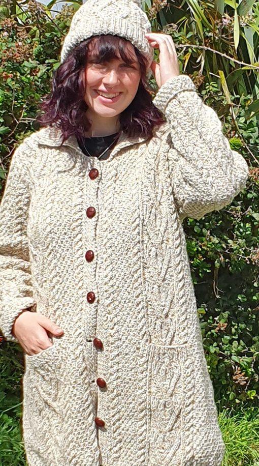 Dingle Linens Ciara jacket