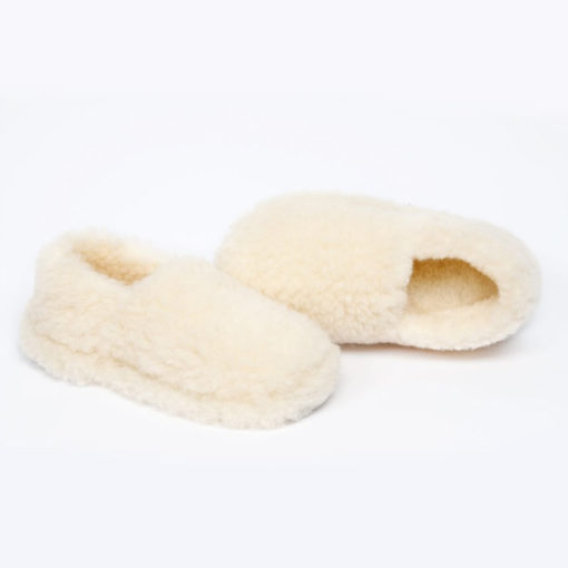 Dingle Linens natural slippers