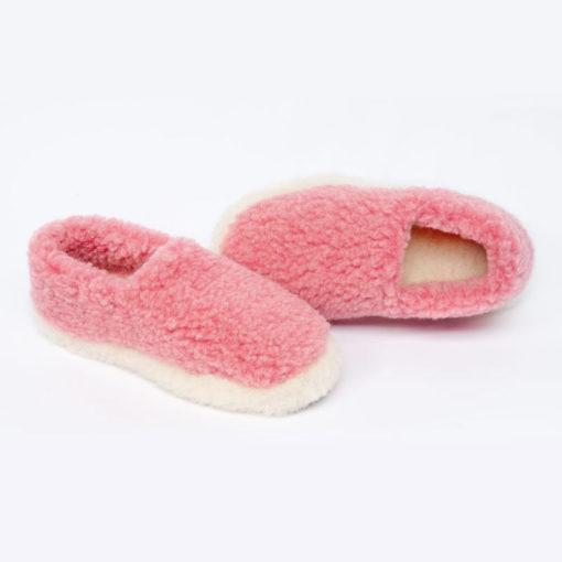 Dingle Linens pink slippers