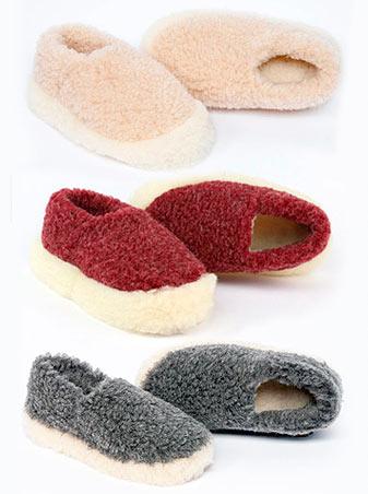 Dingle Linens Slippers